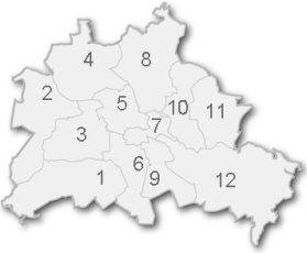 Berliner Bezirke 12 Stadtbezirke Ortsteile Kieze In Berlin