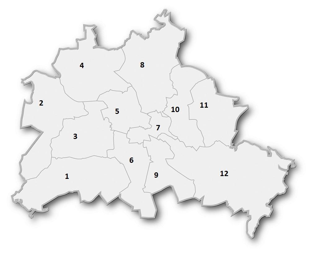Stadtplan Von Berlin Berliner Stadtplan Geographische Informationen