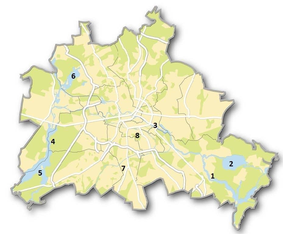Flusse In Berlin Welcher Fluss Durch Berlin Fliesst