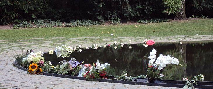 Denkmal für die ermordeten Sinti und Roma Europas in Berlin