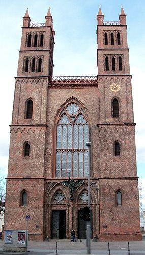 Friedrichswerdersche Kirche Museum Offnungszeiten Architektur